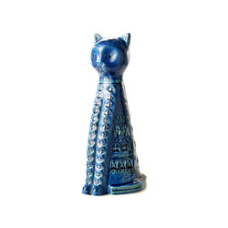 Rimini Blu Figura gatto alto | Objekte | Bitossi Ceramiche
