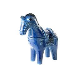 Rimini Blu Figura cavallo | Objetos | Bitossi Ceramiche