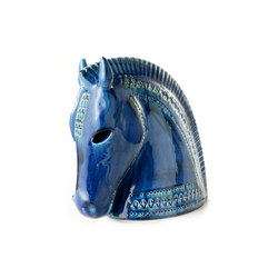 Rimini Blu Testa cavallo | Objects | Bitossi Ceramiche
