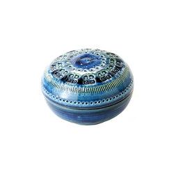 Rimini Blu Scatola rotonda | Bowls | Bitossi Ceramiche