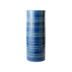 Rimini Blu Portaombrelli cilindrico | Vases | Bitossi Ceramiche