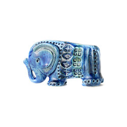 Rimini Blu Figura elefante | Objects | Bitossi Ceramiche