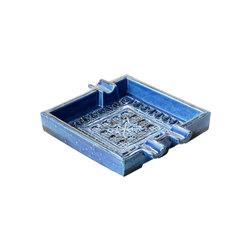 Rimini Blu Posacenere quadro | Ashtrays | Bitossi Ceramiche