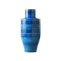 Rimini Blu Vaso Sagomato | Bowls | Bitossi Ceramiche