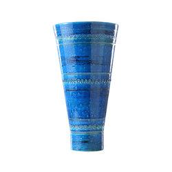 Rimini Blu Vaso Tronco Cono | Vasen | Bitossi Ceramiche
