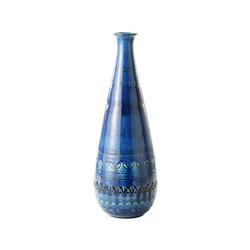 Rimini Blu Vaso Bottiglia | Vasen | Bitossi Ceramiche