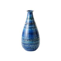 Rimini Blu Vaso Bottiglia | Vases | Bitossi Ceramiche