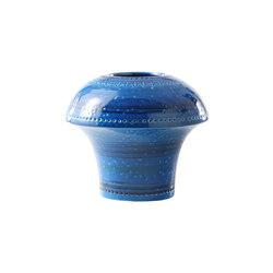 Rimini Blu Vaso Fungo | Bowls | Bitossi Ceramiche