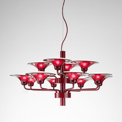 Flame Hanging Lamp | Ceiling suspended chandeliers | ITALAMP