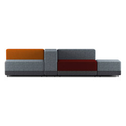 Courage | Modular seating systems | Mitab