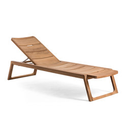 Diuna Adjustable Lounger | Méridiennes de jardin | Oasiq