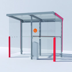 aureo Abri-bus | Ashtrays / Shelters | mmcité
