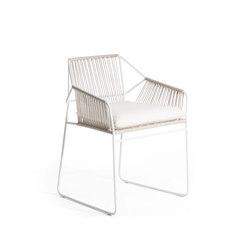 Sandur Armchair Full Woven | Sedie da giardino | Oasiq