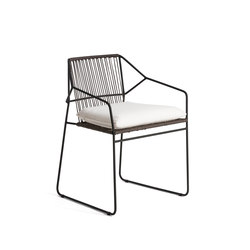 Sandur Armchair Seat & Back Woven | Chairs | Oasiq