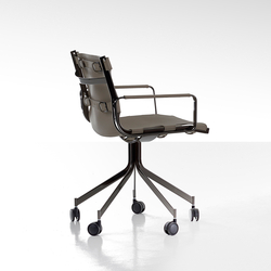 Blixen Office Chair | Chaises de travail | Fendi Casa