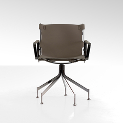 Blixen Office Chair | Siegès de conference | Fendi Casa
