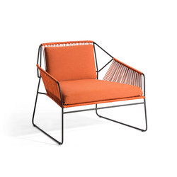Sandur Club Chair Full Woven | Fauteuils de jardin | Oasiq