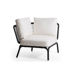 Yland Corner Seater | Fauteuils de jardin | Oasiq