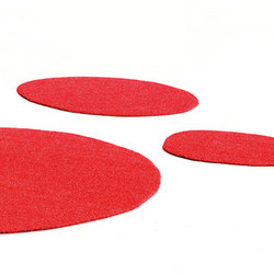 Agatha rug red | Outdoor rugs | Vondom