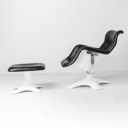 Karuselli Lounge Chair with Ottoman | Sillones | Artek