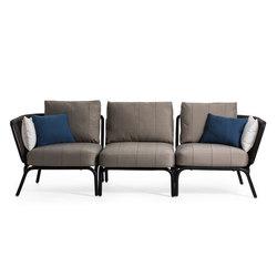 Yland Set Seater | Sofás de jardín | Oasiq