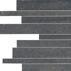 Back Anthracite Strips | Ceramic mosaics | Keope