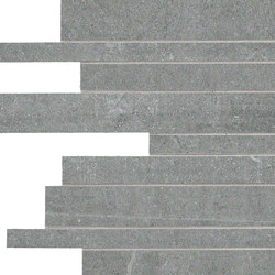 Back Silver Strips | Mosaics | Keope