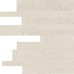 Back Ivory Strips | Mosaïques | Keope