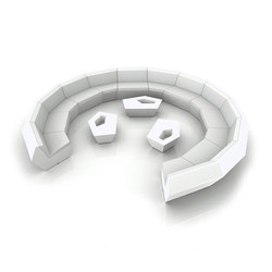 Faz modul sofa | Gartensofas | Vondom