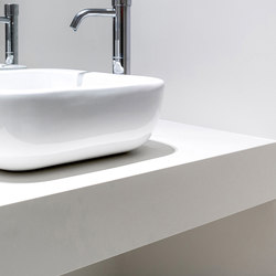 Bath | Colorfeel Avorio | Ceramic panels | Neolith