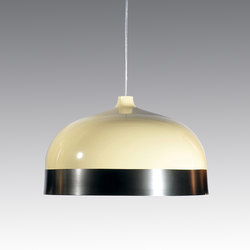 Glaze Pendant Lamp 56 Cream & Charcoal | General lighting | Innermost