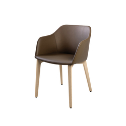 fina club 6861 | Visitors chairs / Side chairs | Brunner