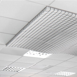 Cube Foam | Acoustic ceiling systems | Planoffice