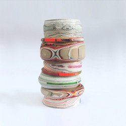 Processed Paper | Modular Paper Vessel | Vases | Utopia and Utility