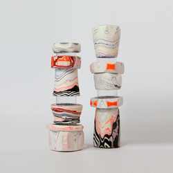 Processed Paper | Modular Paper Vessel small | Vases | Utopia and Utility