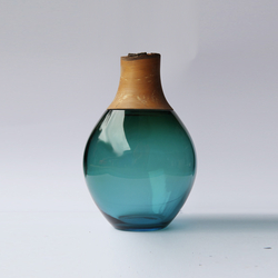 Small Stacking Vessel | SV1 Blue | Vases | Utopia and Utility