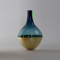 Small Stacking Vessel | SVB Blue | Vases | Utopia and Utility