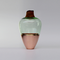 Stacking Vessels | SV India 1 Copper Jade | Vases | Utopia and Utility