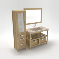 Caraibi vanity unit | Wall mirrors | Zaninelli