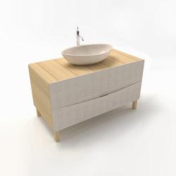 Flow vanity cabinet | Armarios lavabo | Zaninelli