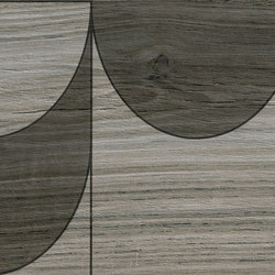 Bio Timber | Oak Grigio compass | Ceramic slabs | Lea Ceramiche