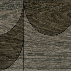 Bio Timber | Oak Grigio Scuro compass | Slabs | Lea Ceramiche