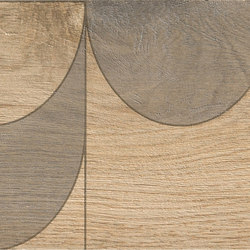 Bio Timber | Oak Patinato Chiaro compass | Slabs | Lea Ceramiche
