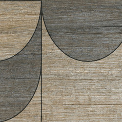 Bio Timber | Oak Provenzale compass | Slabs | Lea Ceramiche