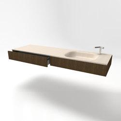 Masi Alti hung vanity unit | Armarios lavabo | Zaninelli