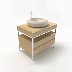 CNC 90 bathroom unit | Armarios lavabo | Zaninelli