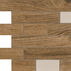Bio Timber | Oak Patinato Scuro mosaico wall | Bodenfliesen | Lea Ceramiche