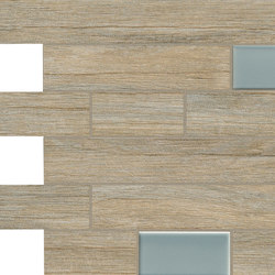 Bio Timber | Oak Provenzale mosaico wall | Floor tiles | Lea Ceramiche