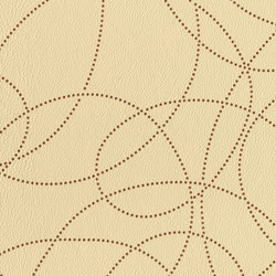 Sky Writing 7015 02 Honey Butter | Faux leather | Anzea Textiles