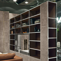 Ianus middle system | Wall storage systems | Longhi